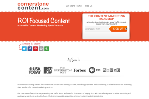 27 Marketing Experts Share Their Favorite Content Marketing Tools (And How They Use Them)  - http://www.cornerstonecontent.com