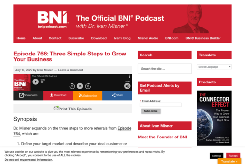 When Should You Ask for a Favor? [podcast] - http://www.bnipodcast.com