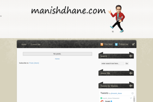 SEO Tips - Keep Your Blog On Your Website - http://manishdhane.blogspot.in