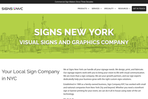 Your Local Brooklyn Signs and Graphics Company - Signs NYC - https://www.signsny.com
