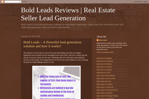 BoldLeads | Why is it important to hire a lead generation company?  - https://boldleadsreviews.blogspot.com