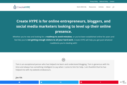 31 Days to Build a Better Blog - http://createhype.com