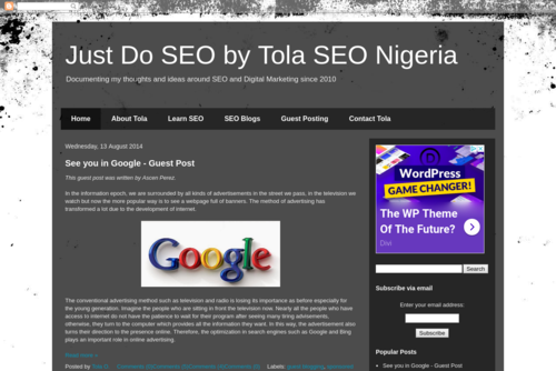 Google Updates I Missed During My SEO Break - SEO For Beginners Blog  - http://seo.tolafamakinwa.net