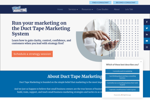 How To Increase Landing Page Conversion :: Duct Tape Marketing - http://www.ducttapemarketing.com