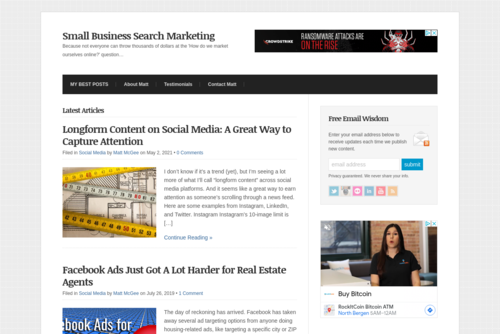 The real secret to ranking high in search engine results pages - http://www.smallbusinesssem.com