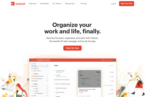 The 24/7 Ping | Productivity Distractions - https://todoist.com