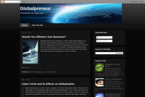 Globalpreneur: Global Market Success Strategies - http://luzglobalpreneur.blogspot.com