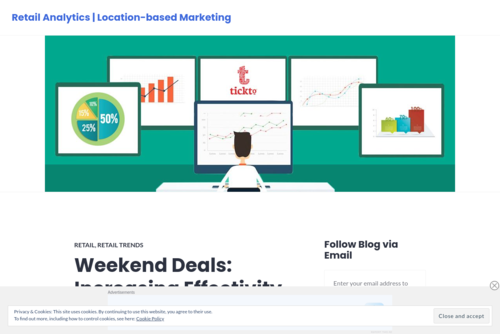 Weekend Deals: Increasing Effectivity & Maximizing Returns - https://retailstoreanalytics.wordpress.com
