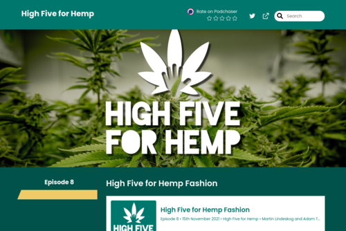 Welcome to High Five for Hemp! [podcast] - https://hemp.captivate.fm