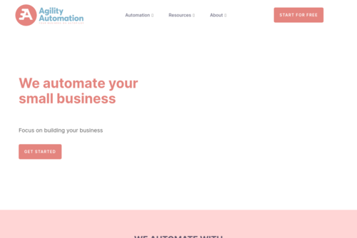 Get your team to work better in less time - https://www.agilityautomation.com