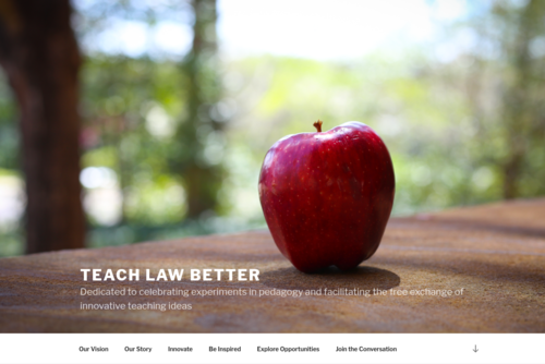 Legal Writing Like an Entrepreneur  - https://teachlawbetter.com