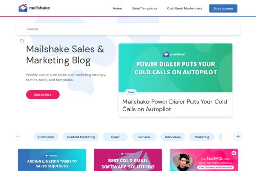 100+ Sales Statistics to Drive Your Strategy - https://blog.mailshake.com