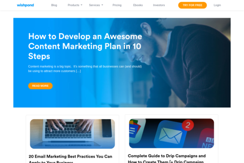 30 Landing Pages That Build Your Email List - http://blog.wishpond.com