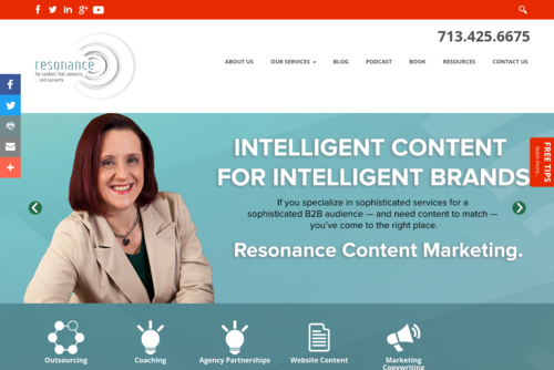 Ann Landers, Content Marketing Genius?  - http://www.resonancecontent.com