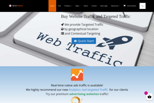 A Step By Step Guide For Buying Website Traffic - http://netotraffic.com