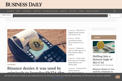 Local companies should leverage the power of social media better - http://www.businessdailyafrica.com