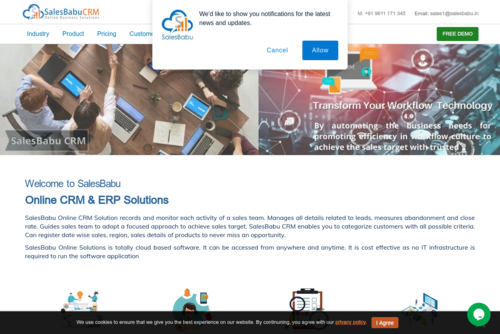 How cloud based CRM Analytics can make your Business Successful? - http://www.salesbabu.com