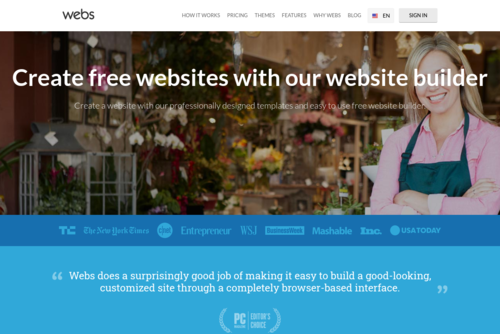 How to Make a Small Business Website Appear Bigger  - http://www.webs.com