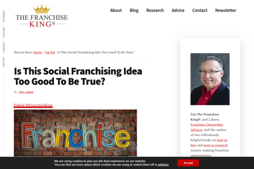 Social Franchising: An Idea Too Good To Be True? - thefranchiseking.com/social-franchising