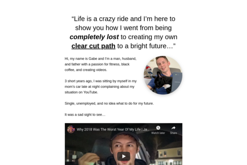 The Number 1 Secret To Blogging Success - http://gabejohansson.com