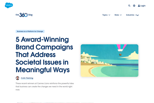 5 Marketing Best Practices for Creating the Content Your Audience Wants - Salesforce Blog - http://blogs.salesforce.com