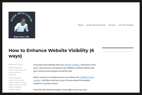 How to make your blog famous in 30 days - Internet marketing guide - http://workwitheyram.com