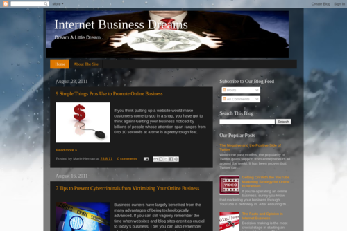 Internet Business Dreams! Are You Up For The Challenge? - http://internetbiznez.blogspot.com