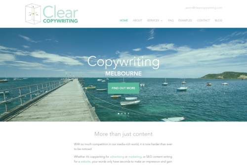Honest copywriting in a world of fraud  - https://clearcopywriting.com