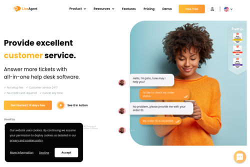 How to Improve Customer Retention with a Solid Onboarding Process - https://www.ladesk.com