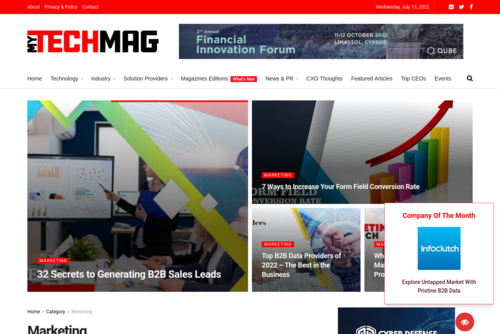 Top Marketing Challenges Facing CMOs in 2021  - https://marketing.mytechmag.com