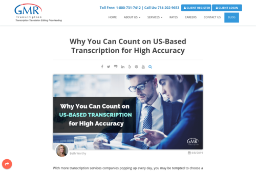 Why You Can Count on US-Based Transcription for High Accuracy - www.gmrtranscription.com/blog/count-us-based-transcription-for-high-accuracy