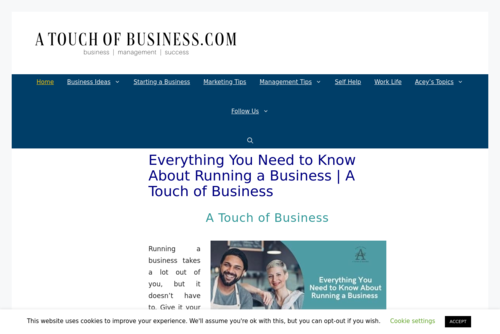 The Company Profile of Apple – Resources To Tell The Whole StoryA Touch of Business.com - https://atouchofbusiness.com