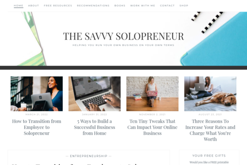 3 Ways To Make Your New Blog Look Professional - http://thesavvysolopreneur.net