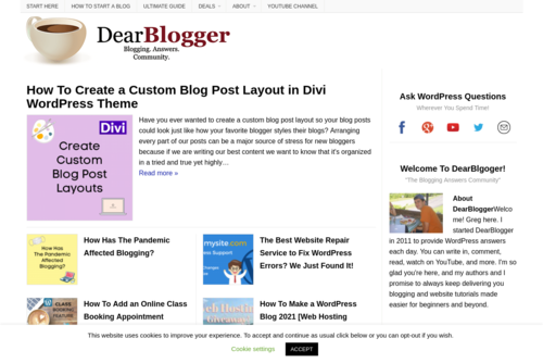 Why Blogs Fail to Get Traffic - Dear Blogger - http://www.dearblogger.org