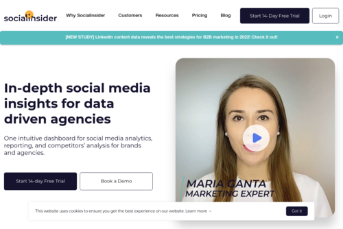 Repurpose Content! Expand Your Horizon - Facebook Competitive Tool and Instagram Analytics Tool  - https://www.socialinsider.io