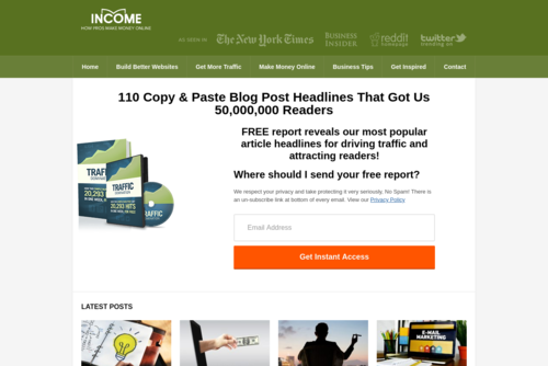 10 Article Headline Examples That Got Us 10,000,000 Readers - http://www.incomediary.com