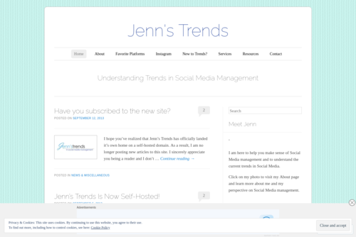 Using Comments to Set Yourself Apart on Instagram  - http://jennstrends.wordpress.com