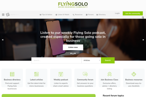 Sole Trader: What Form Should Your Business Take? - http://www.flyingsolo.com.au