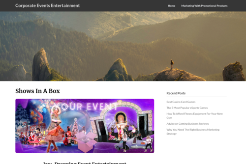 5 Fund-raising Ideas for your Charity Event - http://www.showsinabox.com
