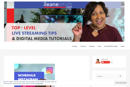 Celebrating 1 Million Views on YouTube  - https://ileanesmith.com