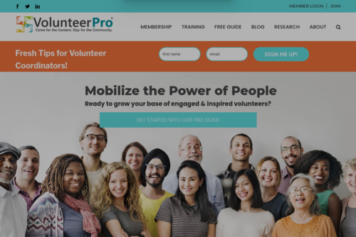 5 Ways to Energize & Promote Volunteer Team Productivity - https://volpro.net
