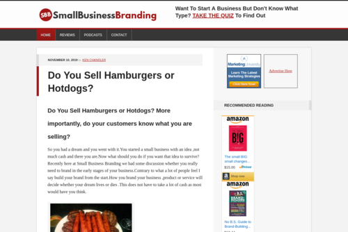 Do You Possess The Winner Brand? - http://www.smallbusinessbranding.com