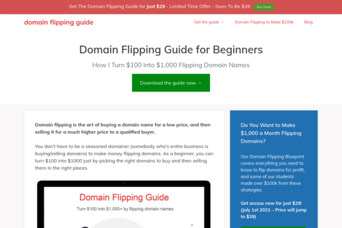 5 Powerful Website Flipping Secrets You Must Know. - http://domainflippingguide.org