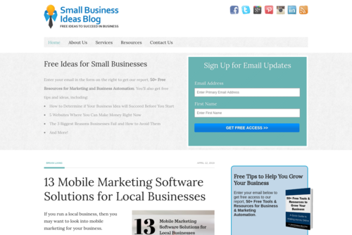 13 Mobile Marketing Software Solutions for Local Businesses - http://www.smallbusinessideasblog.com