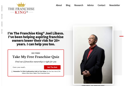 Working From Home Franchise Businesses - http://www.thefranchiseking.com