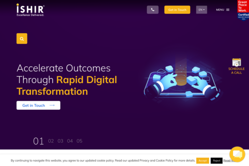 Does Digital Transformation Ever End? - https://www.ishir.com