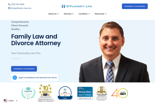 124: Cross-Promoting With Local Charities (Jim Elliot) - O\'Flaherty Law - http://www.oflaherty-law.com
