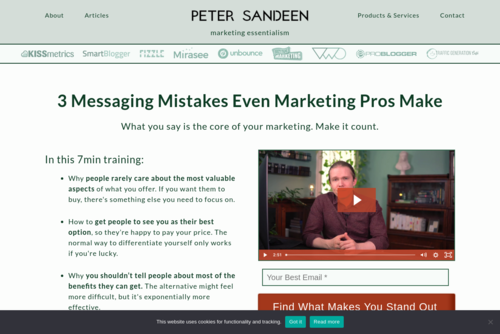 What is Your Value Proposition? - http://www.petersandeen.com