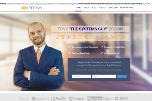 Developing Systems Effectively – 7 Key Lessons - http://www.tonylbrown.com
