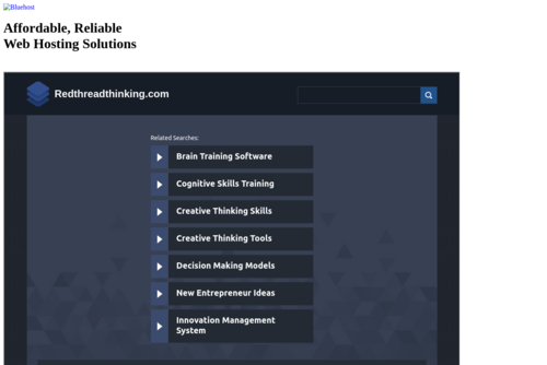 Fast-track New Product Success - http://www.redthreadthinking.com